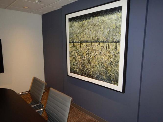 Installed in Client's Office